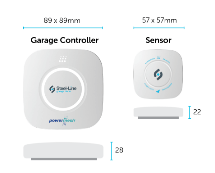 Garage controller Technical Specifications